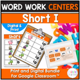 Short I Word Family Center Activities