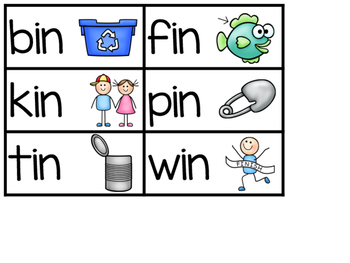 Short I Word Family Sentence Building (BUNDLE)
