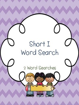Short I Word Searches!