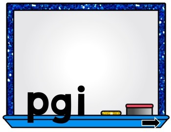 Short I Word Unscramble PowerPoint Game