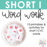 Short I Word Work