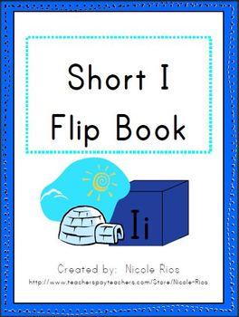 Short I Word Work Flip Book