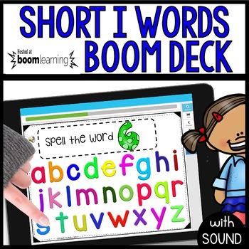 Short I Words BOOM CARDS