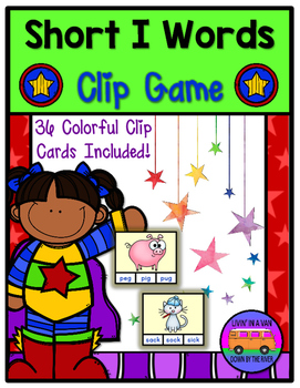 SHORT I Words - Clip Game