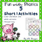 "Short ""I"" Worksheets - Fun with Phonics!"