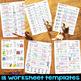 Short I Worksheets & Activities - Short I Word Work (No-Prep Phonics Worksheets)