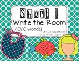 Short I Write the Room {CVC Words}