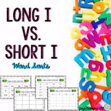 Vowels: Long I Vs. Short I Word Sorts
