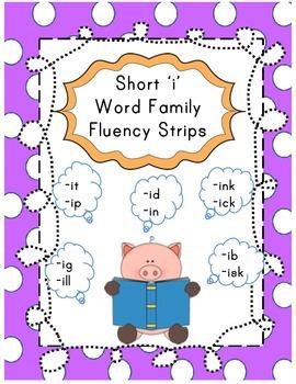 Short I word readers