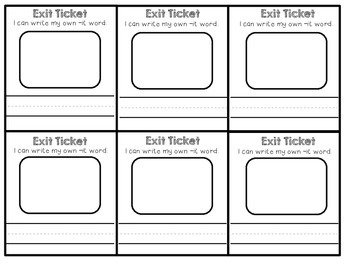 Short Ii Exit Tickets
