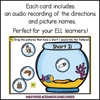 Short Ii Sort Boom Cards