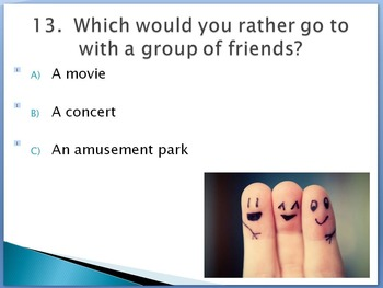 Short, Simple Learning Styles Quiz (PowerPoint Show)