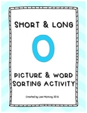 Short & Long O Picture & Word Sort