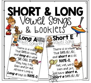 Short & Long Vowel BUNDLE by The Crazy Schoolteacher