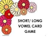 Short/ Long Vowel Card Game