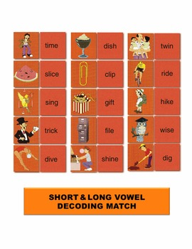 Short & Long Vowel Decoding Match