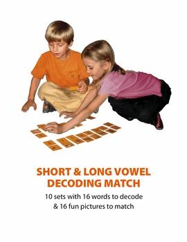Short & Long Vowel Decoding Match
