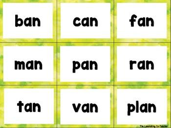 Short & Long Vowel Flash Cards