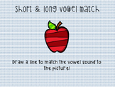 Short & Long Vowel Match!