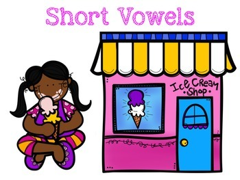 Ice Cream Themed Short & Long Vowel Sort
