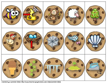 Short & Long Vowel Sound Sort; Cookie Jar Version! ~100 Pictures To Sort~