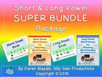 Short & Long Vowel Super BUNDLE Package