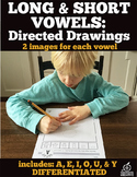 Short & Long Vowels: Directed Drawings Bundle