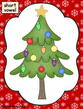 Short & Long Vowels- Santa's Little Helpers