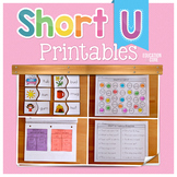 Short U Activities   Short U Worksheets