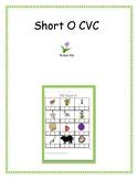 Short O CVC Activities - 5 Activities