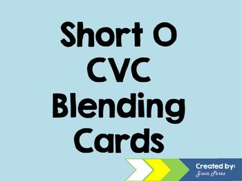 Short O CVC Blending Cards