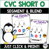 Short O CVC Families for Beginning Readers