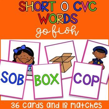 Short O CVC Go Fish