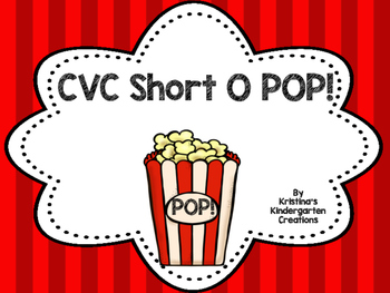 Short O CVC POP! Freebie!