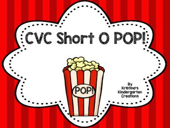 Short O CVC POP! Freebie!