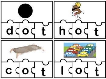 Short O CVC Puzzles