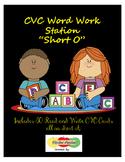 Short O CVC Read and Write Cards