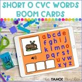 Short O CVC Word Boom Cards | Digital Literacy Activities