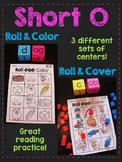 Short O CVC Words Roll Centers