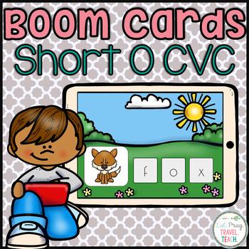 Short O CVC for Boom Cards