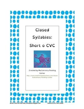 Short O CVC words