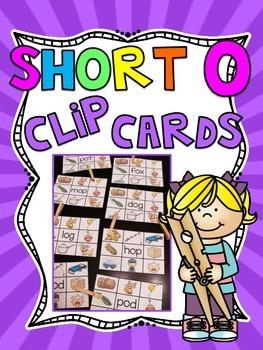 Short O Clip Cards Centers