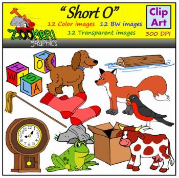 Short O Clipart