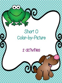 Short O Color-By-Picture
