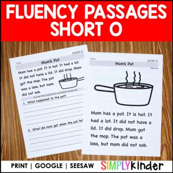 Short O Comprehension Passages