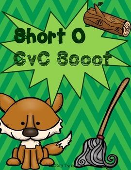 Short O CvC Task Cards