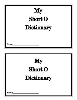 Short O Dictionary