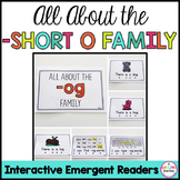 Short O Family Emergent Readers (Interactive)
