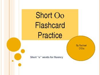 Short O Flashcard Practice