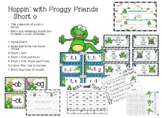 Short O - Hoppin with Froggy Friends Centers and Activities